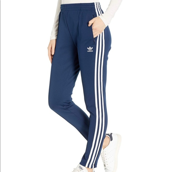 Adidas Superstar Pants in Blue